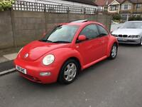 VW BEETLE 2.0 AUTOMATIC 2001