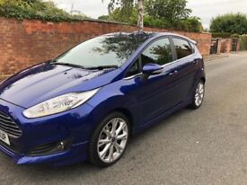 2014 Ford Fiesta titanium x 1.0 125bhp. FFSH. 49 k. 12 months mot. Must go, make me a sensible offer