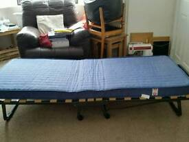 Fold up single guest bed £40 ono
