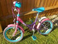 Girl's Pink Bike - Sindy