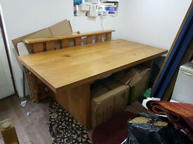 Solid Wood Dining Table - £160