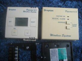 Thermostat wireless Drayton digistat RF2