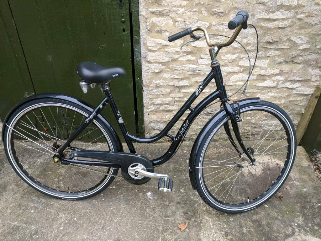 2a6e6624958 Ladies Dutch town hybrid bicycle Jupiter 19