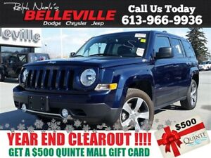 2016 Jeep Patriot High Altitude- $69 Weekly!Sunroof-Bluetooth