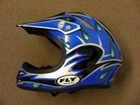 Fly Racing Blue Helmet Size Small 56cm - Motocross / Jetski / Kart etc.