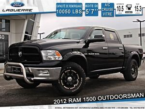 2012 Ram 1500 **OUTDOORSMAN*CREW*HEMI*BLUETOOTH**