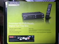 Technika Freeview HD Set top box.