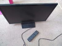 Samsung Smart 22 inch TV with remote