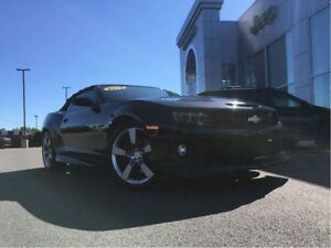 2012 Chevrolet Camaro SSZ 6.2L CONVERTIBLE, LOW KM, LEATHER INTE