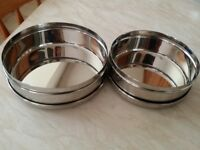 STAINLESS STEEL PURI DABBA WITH STAINLESS STEEL LID