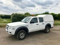 FORD RANGER 2.5 DIESEL 4X4 CREW CAB TRUCK 2009 09-REG *ONLY 60,000 MILES* VERY GOOD CONDITION
