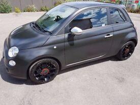 Rare Fiat 500 Sport 'Blackjack' Edition