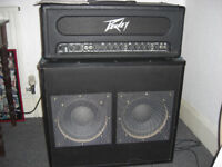 120 RMS Peavey Guitar Amp and 2x 150 RMS Speaker Cabinet