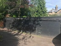 single garage available to rent - up and over door with secure lock