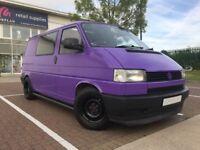 1993 VW Transporter T4 1.9D SWB Surfbus Camper Dayvan Kombi Purple