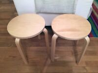 look a like designer stools in perfect condition