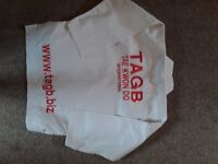 Official TAGB Taekwondo Junior Uniform – Dobok Size 1 (140cm)