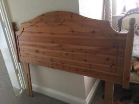 Double head board