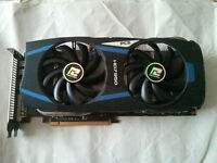 Powercolor Radeon HD 7950 PCS+ (same as R9 280/380, video / graphics card, GPU, PCI-e, PCIe)