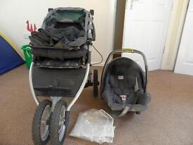 Teutonia Pram and Infant Carrier