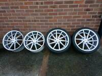 """BMW 5 3 SERIES 19"""" DIRECTIONAL ALLOY WHEELS"""