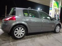 54 reg top spec renault megane 1.5 dci diesel with long mot only £30 a year tax with FREE DELIVERY