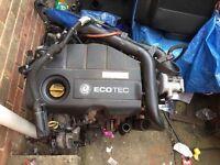 2005 Vauxhall Astra g mk4 h mk5 1.7 cdti 80bhp complete engine 85k