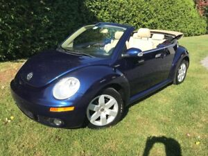 2007 Volkswagen New Beetle Convertible CABRIOLET, AUTOMATIQUE,