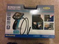 """Ring RBS100 Borescope Inspection Video Camera with 9.8mm Probe and 2.4"""" – Ideal for Mechanics, Plumb"""