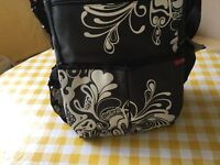 Hop Skip/nappy/changing bag with portable mat as new