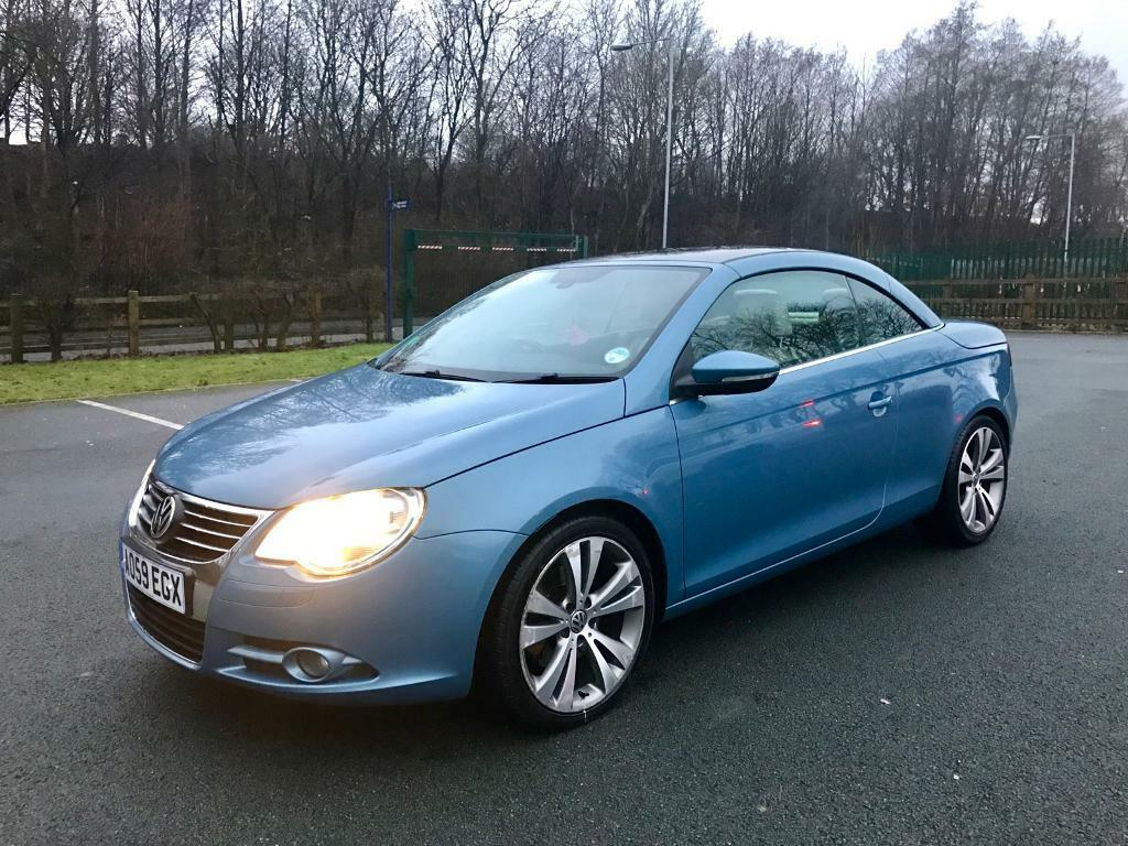 59 2010 volkswagen eos sport 2 0 tfsi convertible immaculate condition fullyv loaded top spec