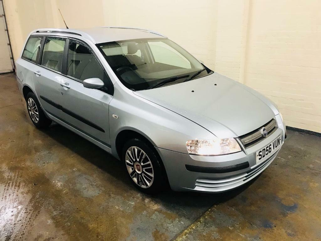 Fiat stilo 1.9 multijet active diesel estate in immaculate condition full  service history mot dec