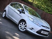 **6 MONTH WARRANTY** FORD FIESTA 1.2 ZETEC, LOW MILEAGE, 5 DOOR HATCHBACK