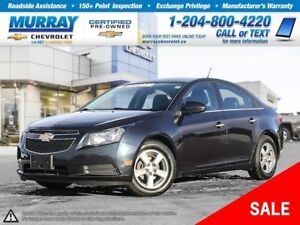 2014 Chevrolet Cruze 2LT *Heated Seats, Remote Start, Rear View