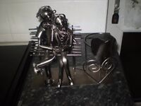 nuts and bolts couple.bottle holder