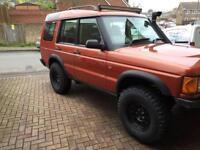 Land Rover discovery td5 not free lander defender