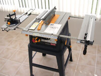Ryobi Table Saw ETS-1525SC - only used twice so still as good as new