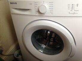 Servis 5kg Washing Machine only 4 months old