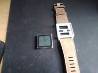 ipod nano 6th generation 16gb and watch strap case