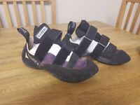 Boreal Climbing / Bouldering Shoes UK 5 (fit a size 4)