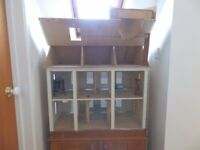 Dolls House and Furniture and fixtures from cutlery to conservatory