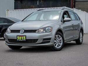 2015 Volkswagen Golf Wagon BLUETOOTH, REAR VIEW CAMERA, HEATED S