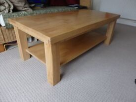 Solid Wood Table for sale. Good clean condition.