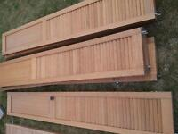 i have six wooden slide doors its good condition
