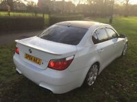 Bmw 5 series m sport 54 plat in 2005 reg run and drive perfect in perfect condition