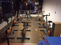 Job lot of spin bikes