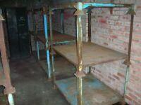 heavy duty stackable steel racking