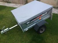 Erde 102 Tipping Trailer Mint Condition