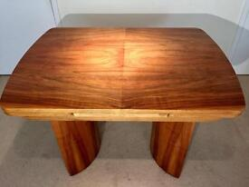 Art Deco dining table, walnut