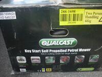 Qualcast 53cm Key Start Self Propelled Petrol Lawnmower unused/new